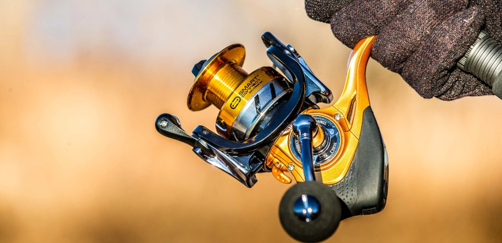 a golden spinning reel under $50